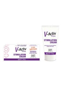 V-activ stimuláló krém nőknek - 50 ml