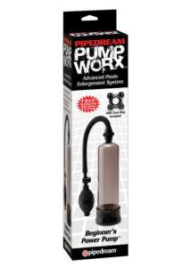 Pump worx péniszpumpa kezdőknek - fekete