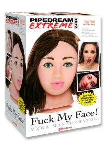 Szexbaba fej fuck my face brunette