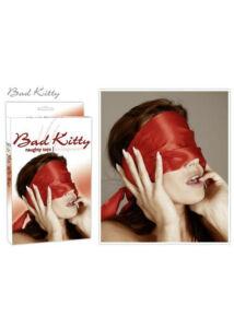 Bad kitty - bondage sál (vörös)