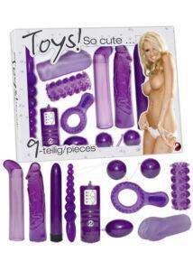 Toys! so cute... készlet (9 részes)