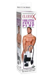Péniszpumpa vibráló Classix