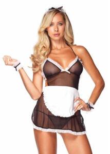 Leg avenue seductive french maid szobalány jelmez