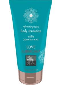 Love lubricant edible - japanese mint 75ml