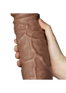 Tapadókorongos műpénisz 27 cm Realistic chubby flesh