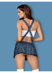Iskoláslány jelmez Studygirl Costume  S/M kék