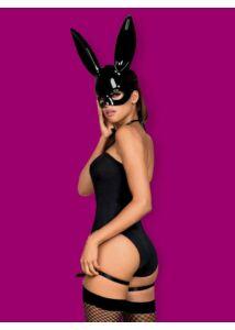 Nyuszi jelmez Bunny Costume  S/M fekete