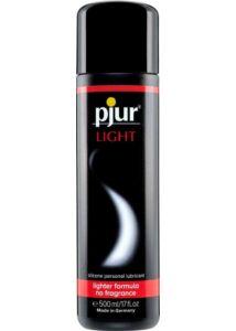 Szilikonbázisú síkosító Pjur light bottle 500 ml