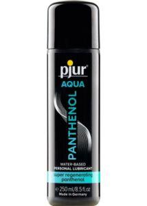 Sikosíró Pjur aqua panthenol bottle 250 ml