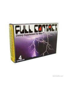 Full Contact potencianövelő férfiaknak 4 db