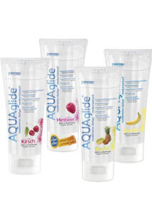 Aqua Glide gyümölcsös síkosítók, 100 ml (eper)