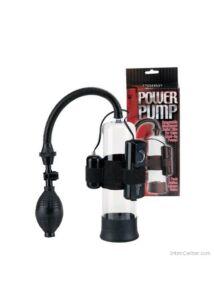 Vákumos péniszpumpa, vibrációs tojással Power Pump