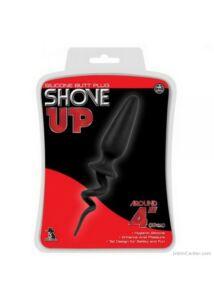Anál izgató, szilikon Shove Up butt plug 10 cm