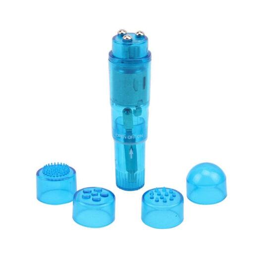 The ultimate mini massager blue