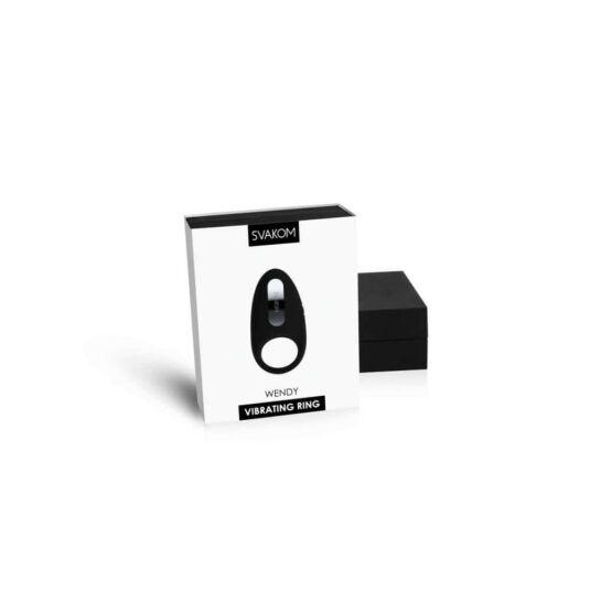 Svakom wendy vibrációs péniszgyűrű (fekete)
