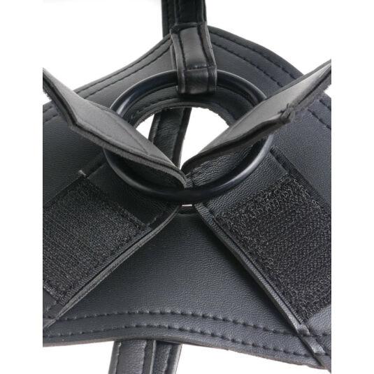 King strap-on dildó | 20 cm | natúr