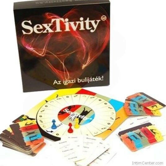 Szex társasjáték pároknak SexTivity