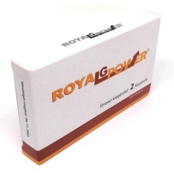 Royal G Power potencianövelő férfiaknak 2 db kapszula