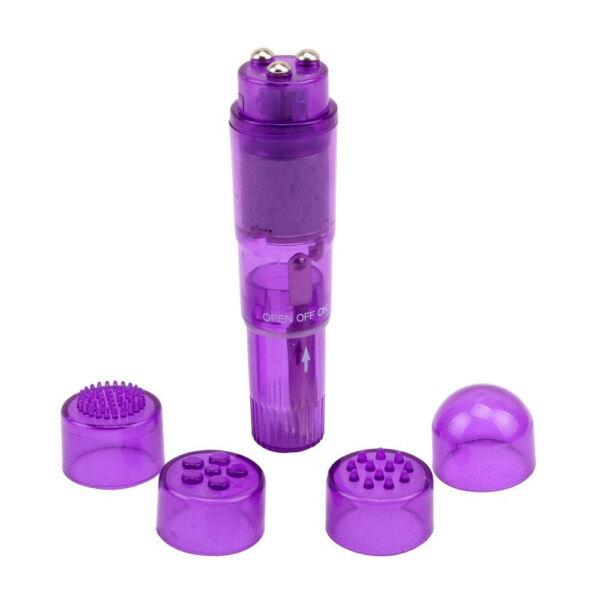 The ultimate mini massager purple