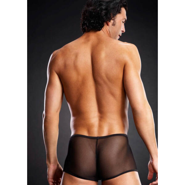 Micro mesh trunk black l/xl