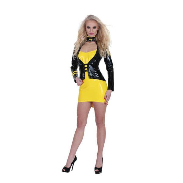 Gp datex sergeant costume yellow/black m