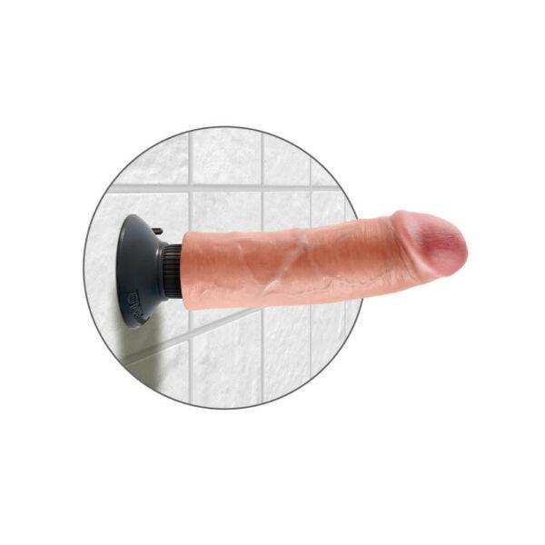 King cock 20 cm hajlítható vibrátor (20 cm)