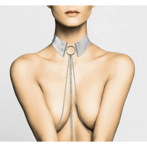 Désir métalique collar - silver
