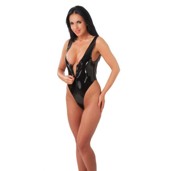 Body with zipper black m