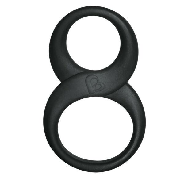 8ball pénisz és heregyűrű - fekete