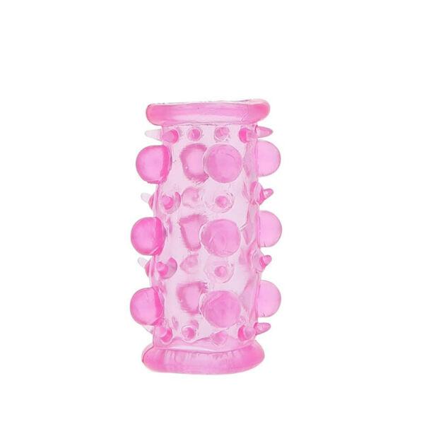Lust cluster gyöngyös péniszköpeny - rózsaszín