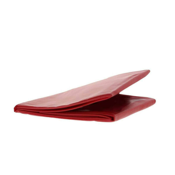Ágynemű 0.18 mm PVC lepedő vörös színű