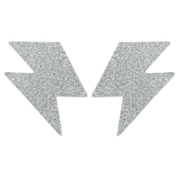 Csillogó bimbódísz - ezüst