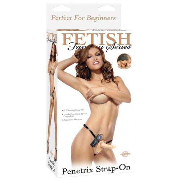 Felköthető vibrátoros pénisz Penetrix strap-on