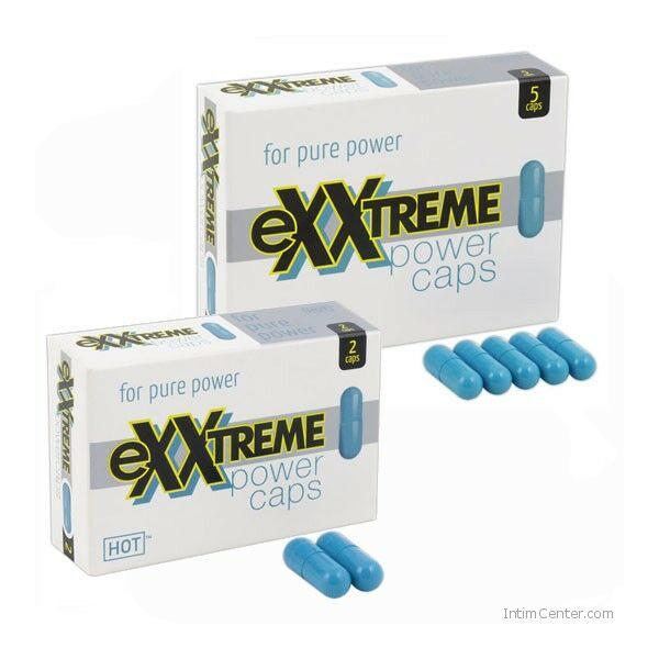Exxtreme Power potencianövelő kapszula férfiaknak